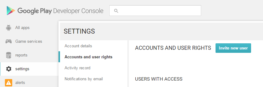 Create a Google Payments account